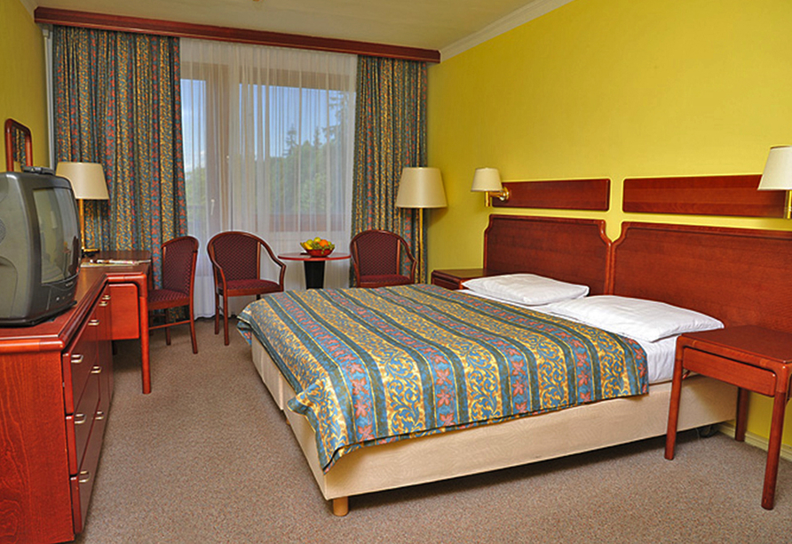 Hotel Krakonos in Marienbad, Zimmerbeispiel