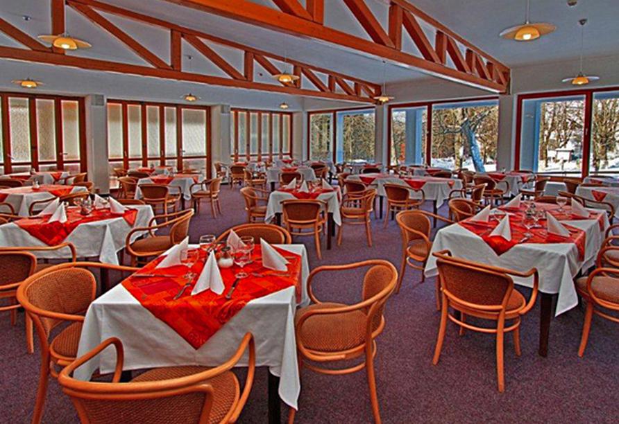 Hotel Krakonos in Marienbad, Restaurant