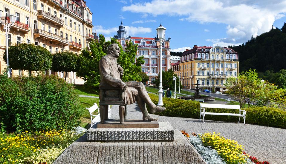 Hotel La Passionaria in Marienbad in Tschechien, Goethe