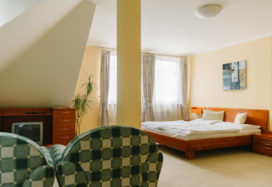 Hotel La Passionaria in Marienbad in Tschechien, Zimmerbeispiel