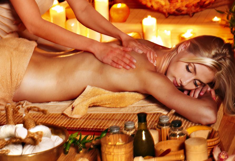Hotel La Passionaria in Marienbad in Tschechien, Massage
