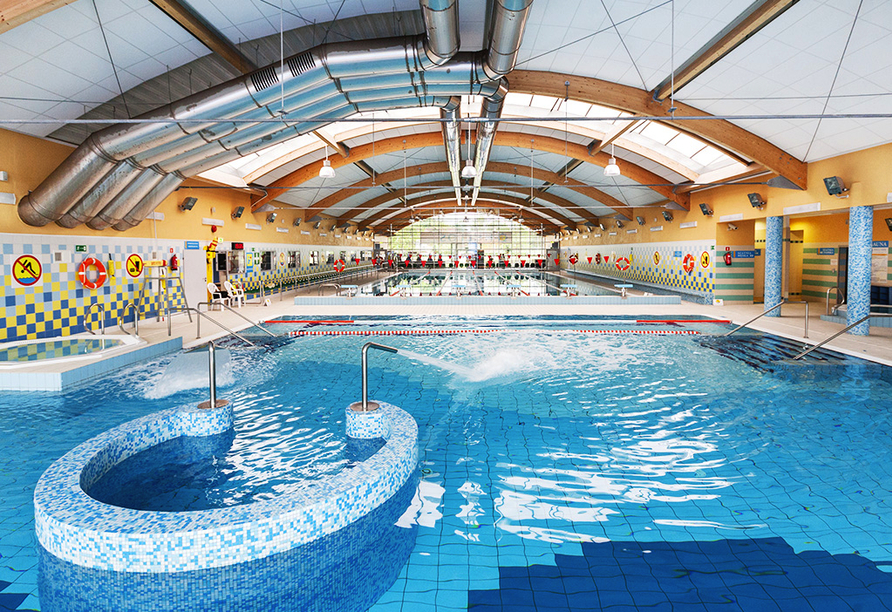Hotel SKAL in Henkenhagen, Aquapark Helios