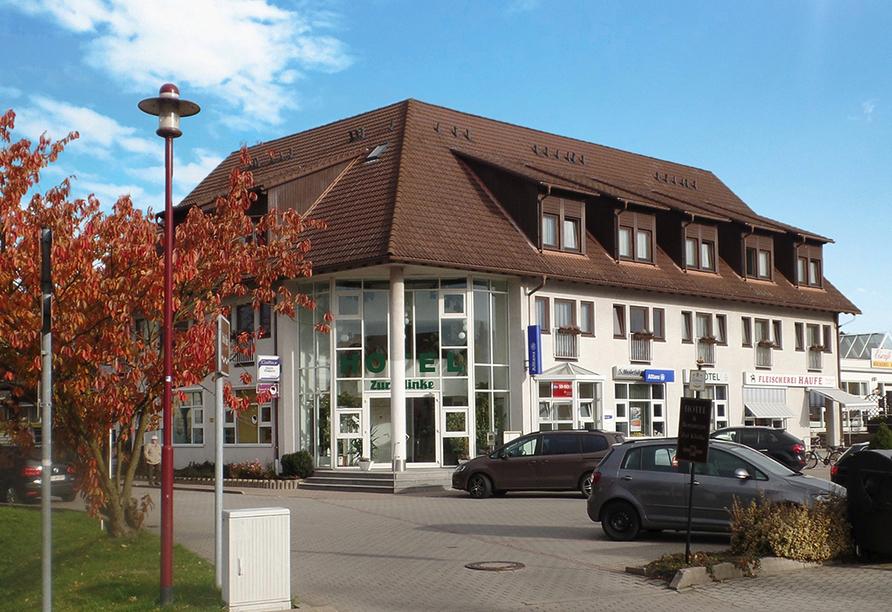 Landhotel Zur Klinke in Bretnig in der Oberlausitz, Außenansicht Hotel
