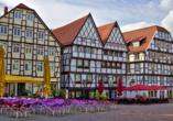 Hotel Am Wall, Soest, Münsterland, Fachwerkhäuser