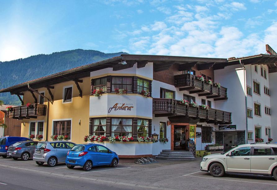 Hotel Auderer in Imst in Tirol, Außenansicht