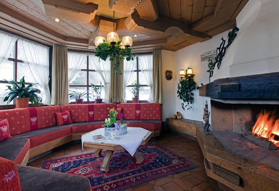 Hotel Auderer in Imst in Tirol, Kaminzimmer