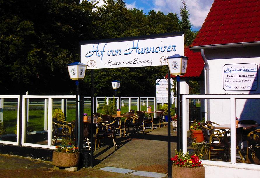 Hotel Hof von Hannover, Eingang