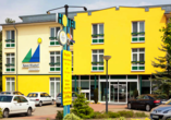 Sporthotel Malchow in Malchow an der Mecklenburgischen Seenplatte, Außenansicht