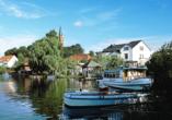 Sporthotel Malchow in Malchow an der Mecklenburgischen Seenplatte, Ausflugsziel Feldberg