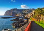 Melia Madeira Mare Resort & Spa, Küste