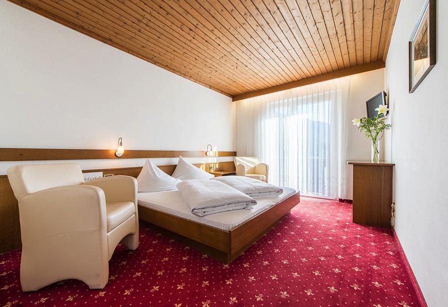 Hotel Antholzerhof in Antholz, Zimmerbeispiel
