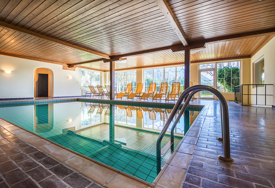 Hotel Antholzerhof in Antholz, Hallenbad