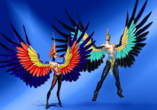 VIVID Grand Show im Friedrichstadtpalast Berlin, Bühnenbild