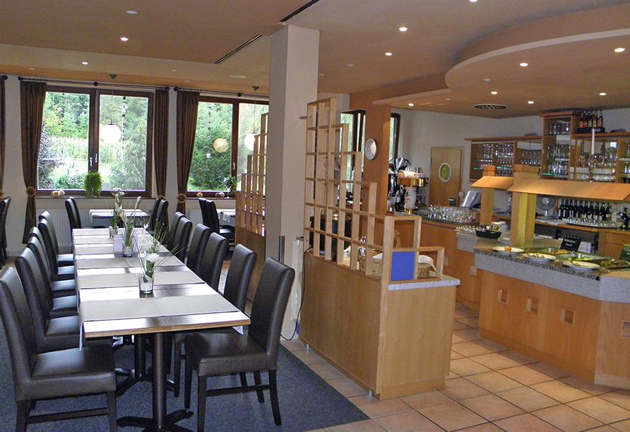 Hotel Rhön Residence in Dipperz in der Rhön, Restaurant