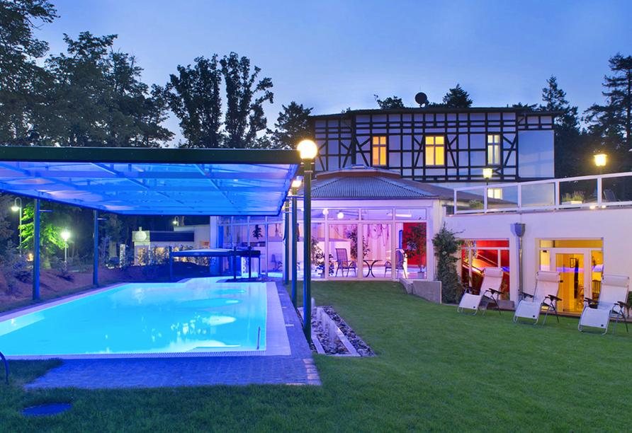 Best Western Plus Ostseehotel Waldschlösschen in Prerow, Außenpool
