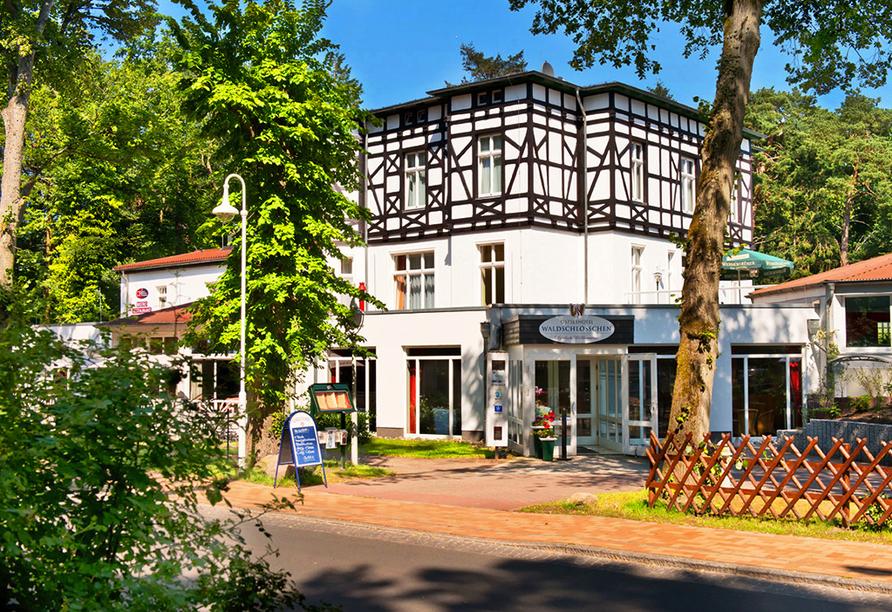 Best Western Plus Ostseehotel Waldschlösschen, Außenansicht