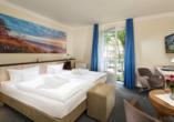 Best Western Plus Ostseehotel Waldschlösschen, Zimmerbeispiel Doppelzimmer Neues Gartenhaus