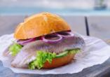 Best Western Plus Ostseehotel Waldschlösschen in Prerow, Fischbrötchen