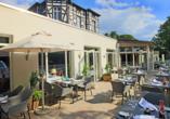 Best Western Plus Ostseehotel Waldschlösschen in Prerow, Terrasse