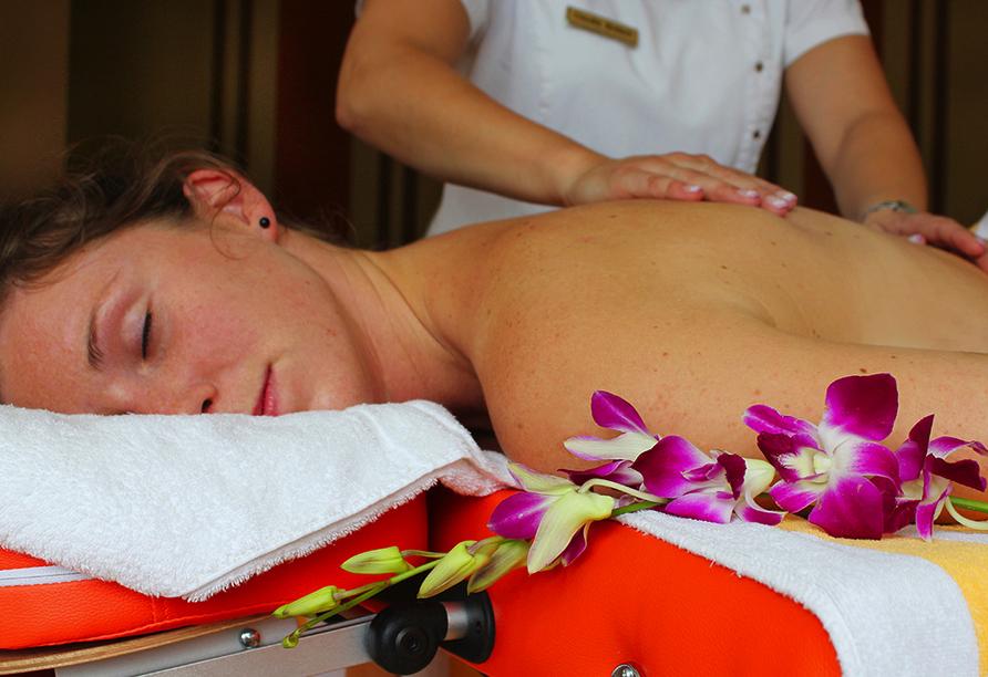 Best Western Plus Ostseehotel Waldschlösschen in Prerow, Massage