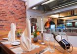 Best Western Plus Ostseehotel Waldschlösschen in Prerow, Showküche