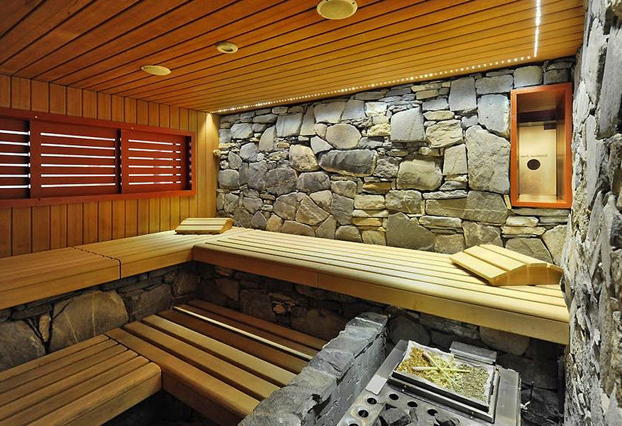 Eiger Selfness Hotel in Grindelwald, Sauna