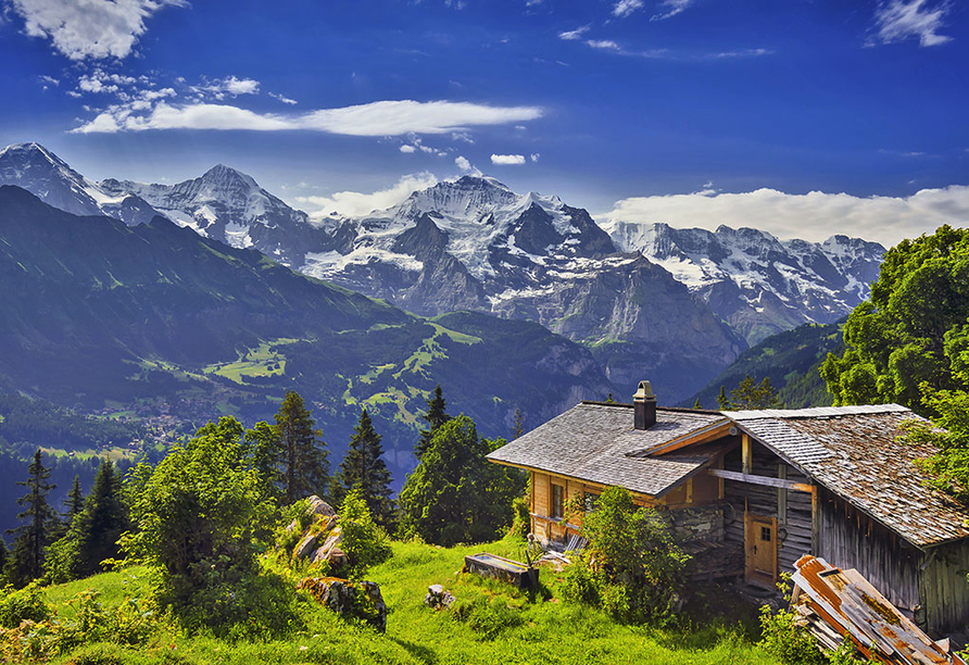 Eiger Selfness Hotel in Grindelwald, Alpenpanorama