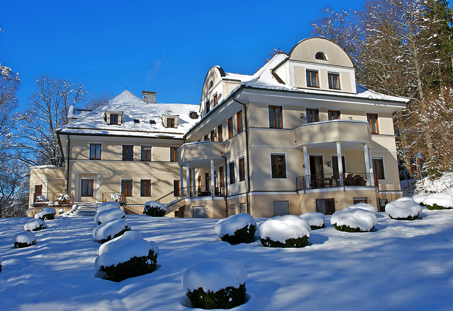 Villa Toscana in Füssen, Winter