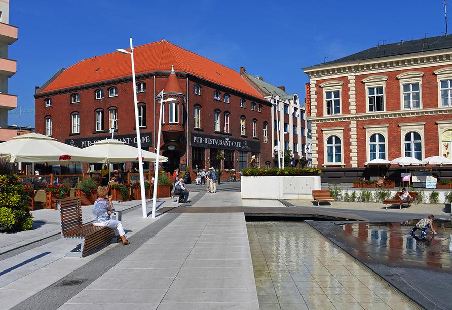 Hotel Polaris in Swinemünde, Zentrum von Swinemünde