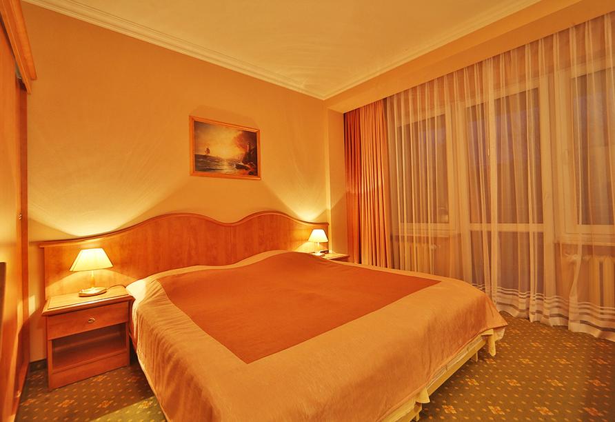 Hotel Polaris in Swinemünde, Zimmerbeispiel