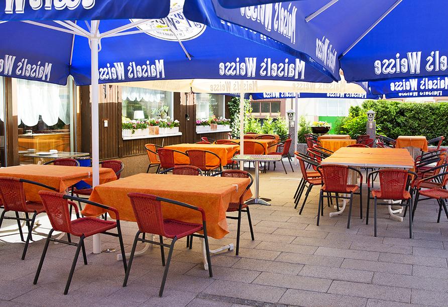 Hotel Löwen, Zell im Wiesental, Schwarzwald, Terrasse