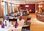 MS A-Silver, Restaurant