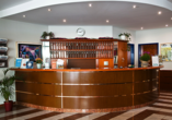 Hotel Falkenstein/Vogtland, Rezeption