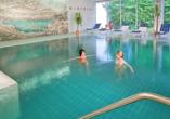 Mercure Hotel Garmisch-Partenkirchen in Bayern, Hallenbad