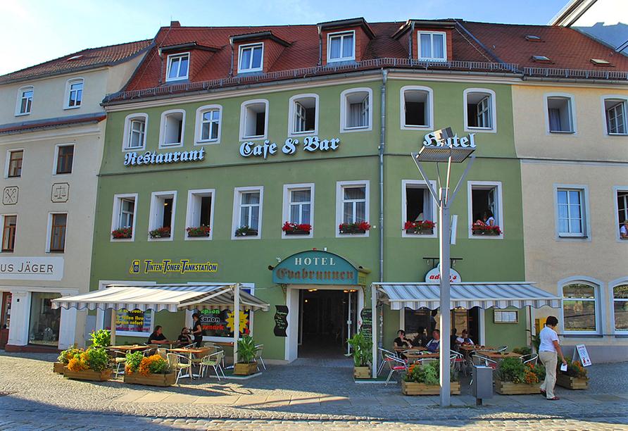 Hotel Evabrunnen Bischofswerda, Außenansicht