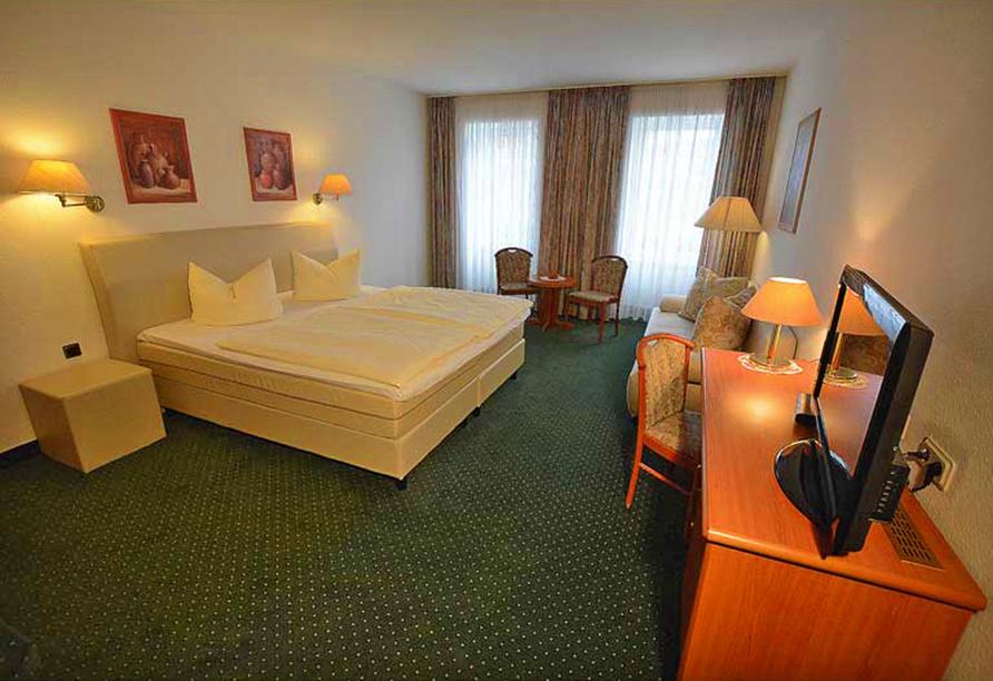 Hotel Evabrunnen Bischofswerda, Zimmer