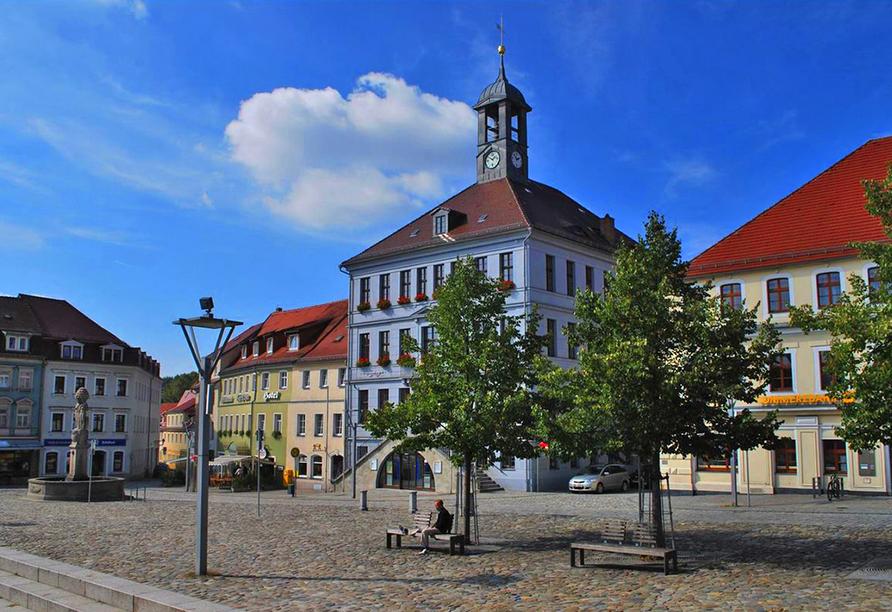 Hotel Evabrunnen Bischofswerda, Marktplatz