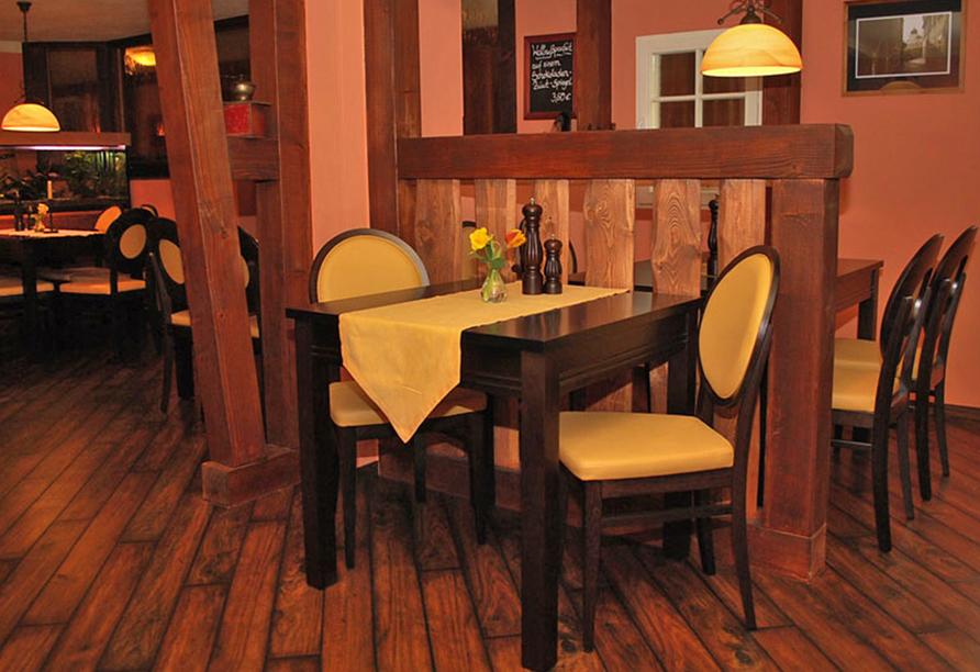 Hotel Evabrunnen Bischofswerda, Restaurant