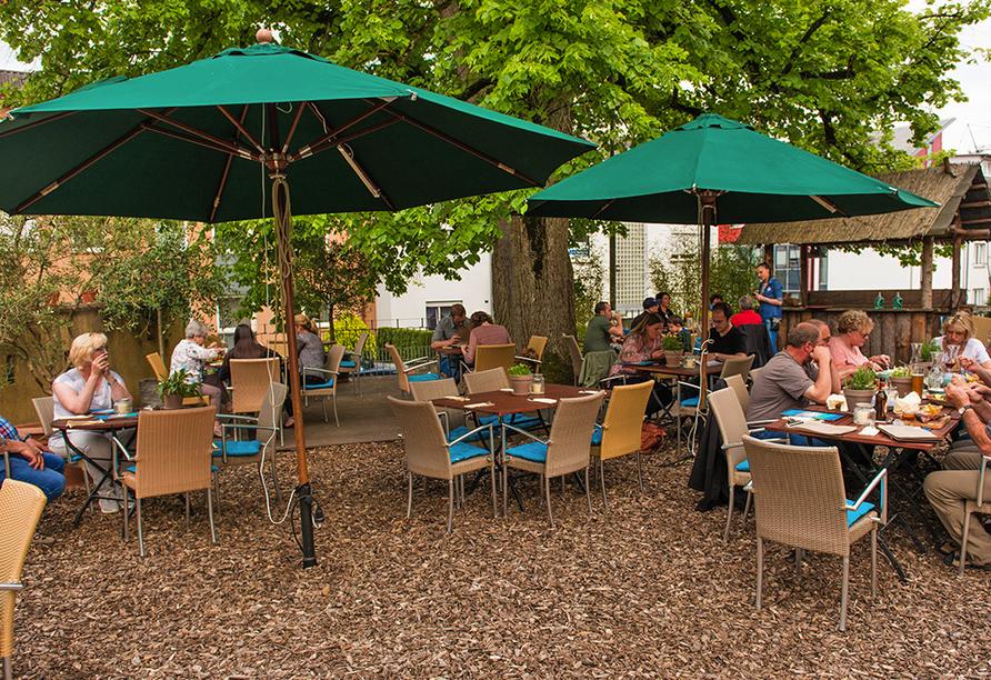 Ko'Ono Hotel & Restaurant, Konstanz, Bodensee, Terrasse