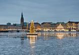 Hotel Blankenese in Hamburg, Silvester