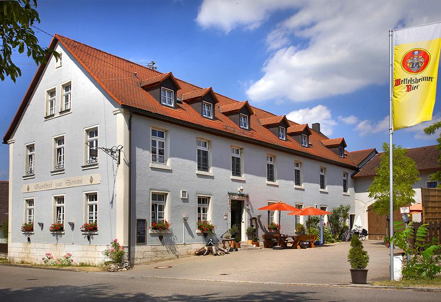 Gasthof Zum Goldenen Lamm & Gästehaus Garni Zur Sonne Treuchtlingen, Außenansicht Gasthof Zur Sonne