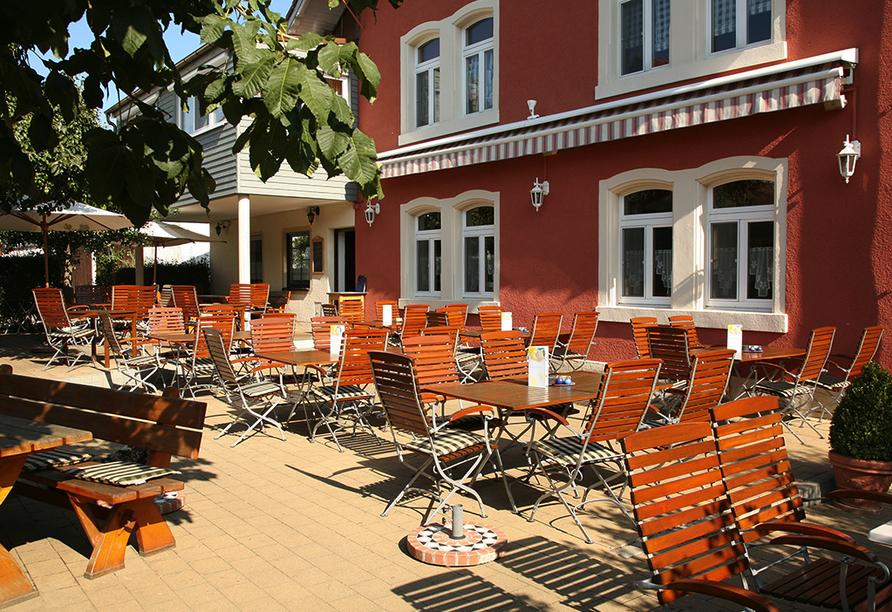 Gasthof Zum Goldenen Lamm & Gästehaus Garni Zur Sonne Treuchtlingen, Terrasse Zum Goldenen Lamm