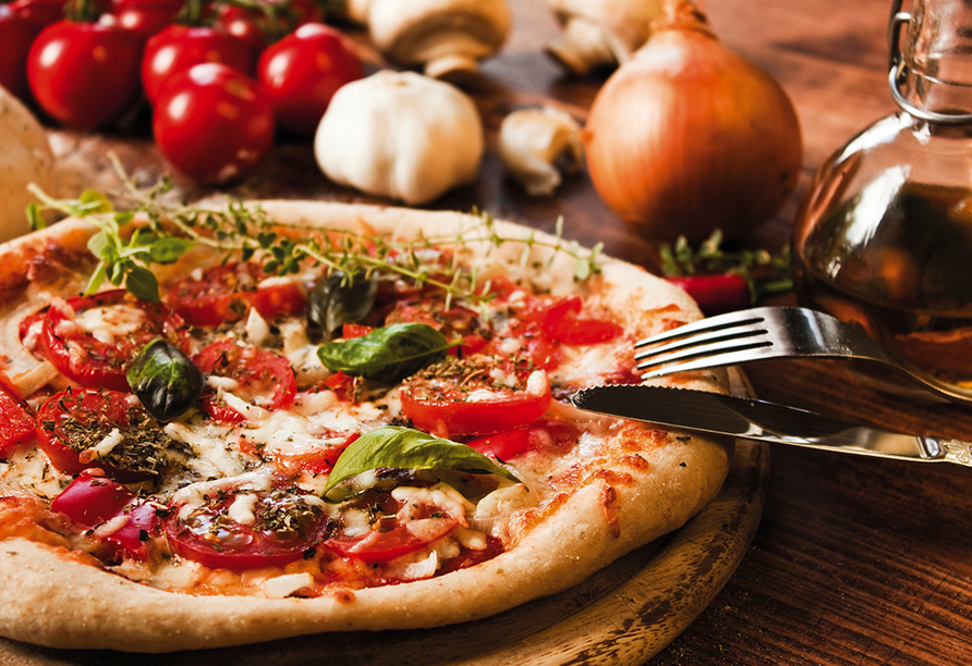 Erlebnisreise am Golf von Neapel, Pizza