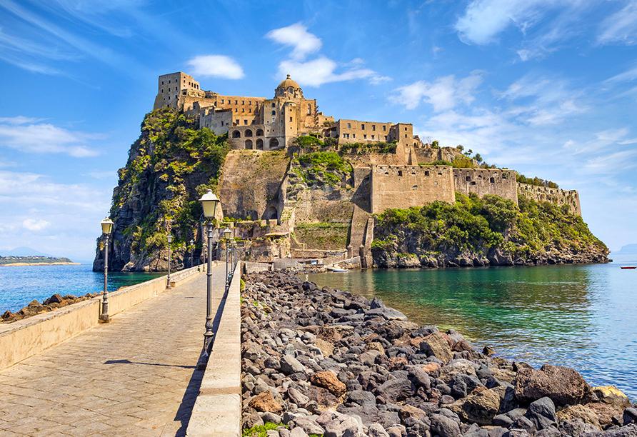 Erlebnisreise am Golf von Neapel, Castello Aragonese
