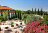 Parc Hotel in Peschiera, Außenanlage