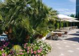 Parc Hotel in Peschiera, Terrasse