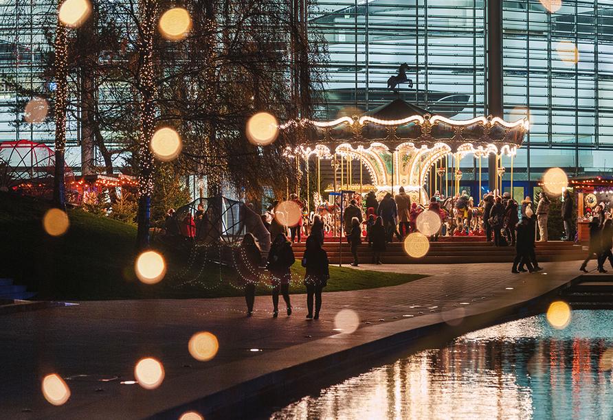 Autostadt Wolfsburg, Weihnachtszeit