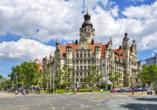 Hotel Goldner Loewe in Bad Köstritz, Neues Rathaus von Leipzig