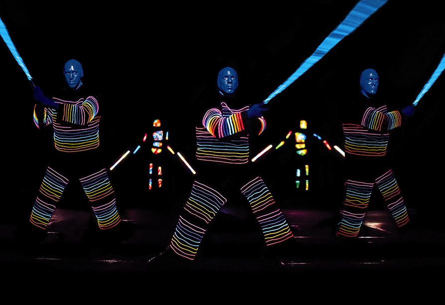 BLUE MAN GROUP, Szenenmotiv