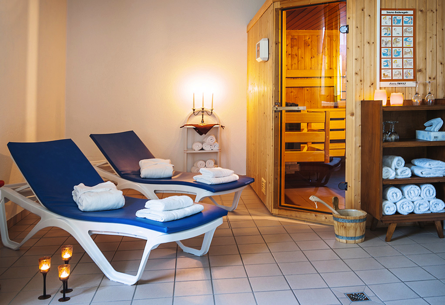 Ferien Hotel Villa Südharz, Sauna